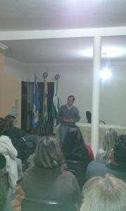 O discurso do vice-prefeito, Neguinho